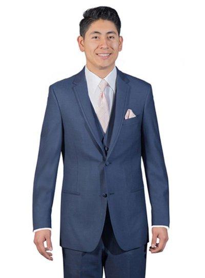 Azure Blue Broadway Suit