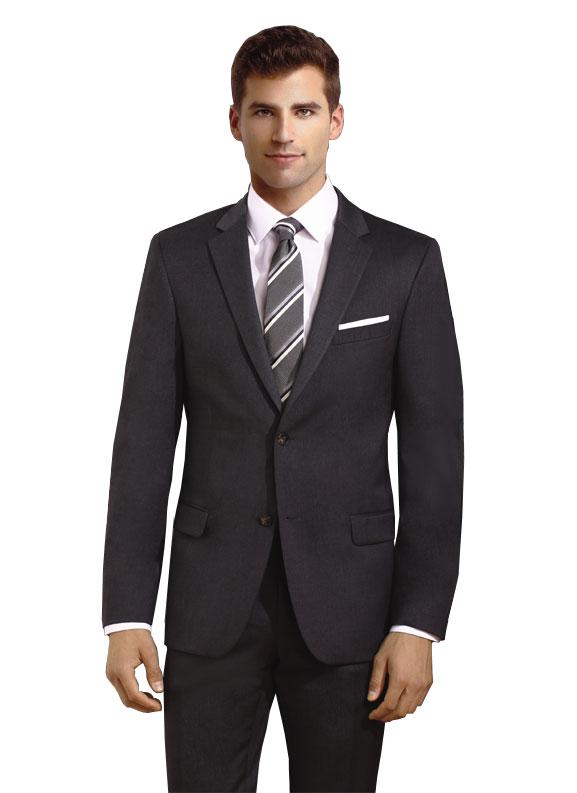 Charcoal 2 Button Suit