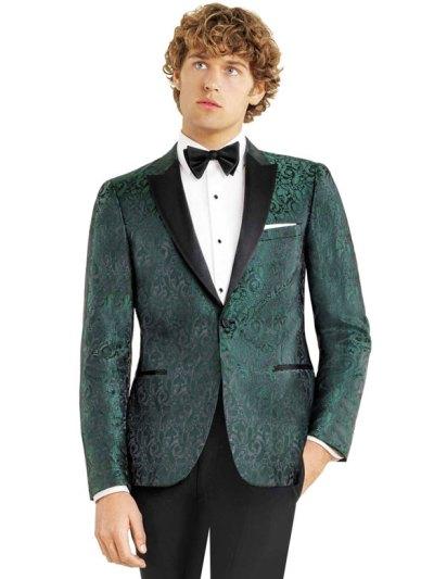 Green Paisley Dinner Jacket