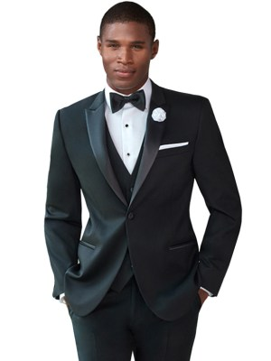 Black Jackson Tuxedo by Ike Behar