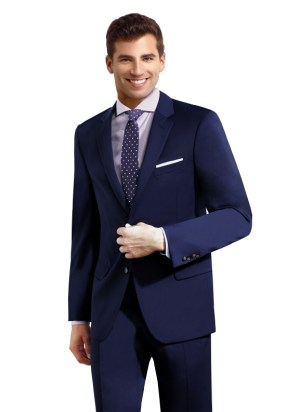 Navy Blue 2 Button Suit