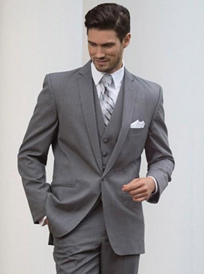 Grey Valencia Suit by Black Label