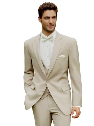 Tan Bartlett Tuxedo by Allure Men