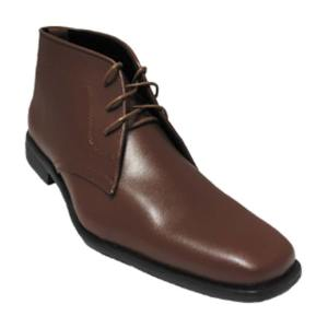 Tan Matte Boot by allure for men