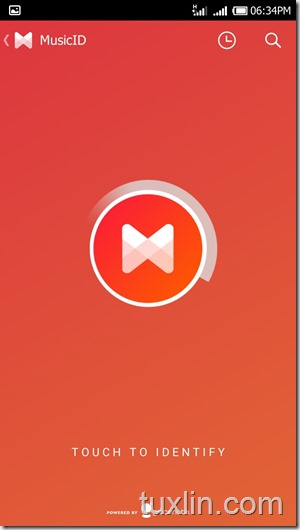 MusiXmatch for Android lirik Tuxlin Blog04