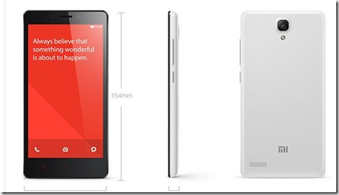 Xiaomi Redmi Note again
