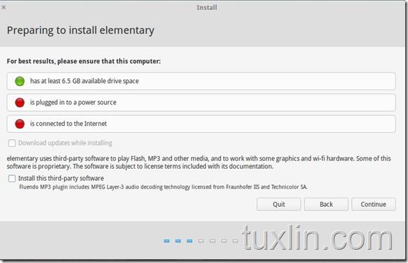 Screenshot Instal elementary OS 0.3 Freya Tuxlin Blog09