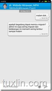 Review Aplikasi Chat Doctor Tuxlin Blog09