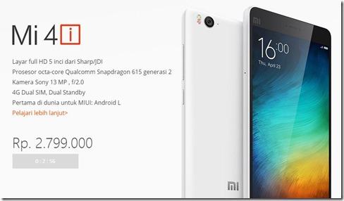 Xiaomi Mi 4i blog
