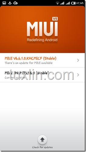 Screenshots update MIUI v6 Android KitKat Redmi 1S Tuxlin Blog02