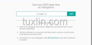 Cara Bikin 2015 Best Nine di Instagram