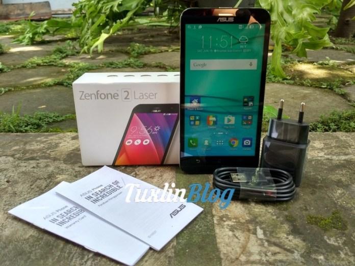 Paket Penjualan Asus Zenfone 2 Laser ZE550KL