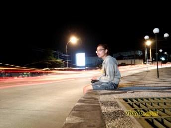 Hasil Foto Kamera Asus Zenfone 3 ZE520KL Malam Hari Long Exposure