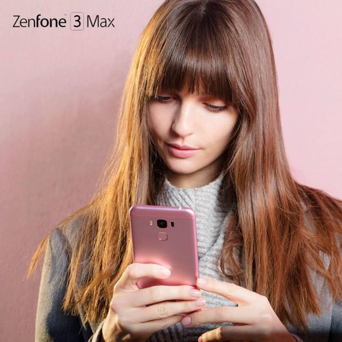 Asus Zenfone 3 Max ZC553KL Rose Pink
