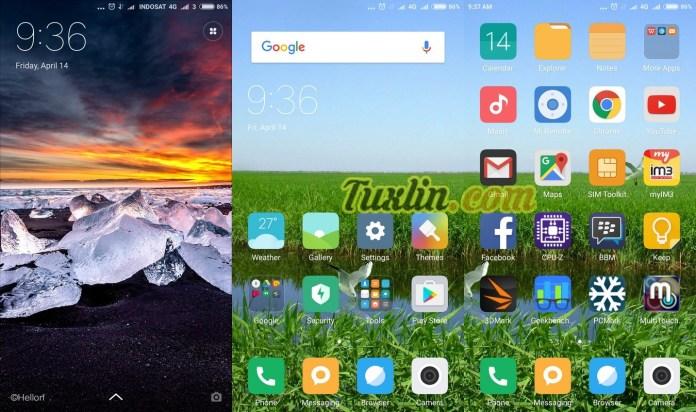 Antarmuka & Fitur Xiaomi Mi5