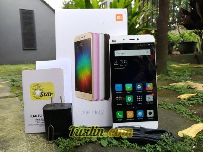 Paket Penjualan Xiaomi Mi5