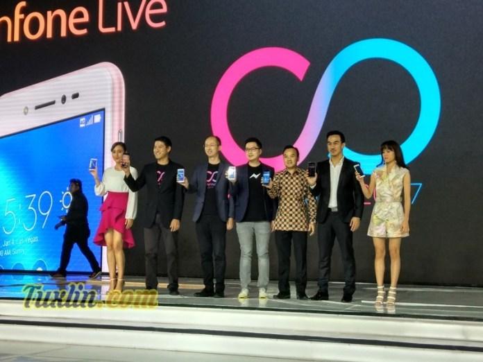 Asus Zenfone Zoom S dan Zenfone Live