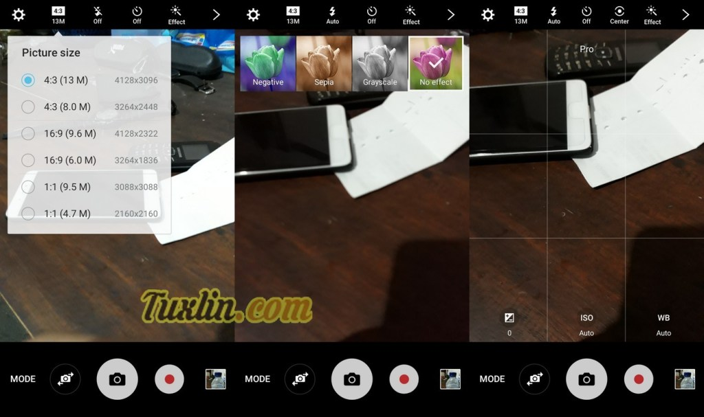 Antarmuka & Fitur KameraSamsung Galaxy J5 Prime