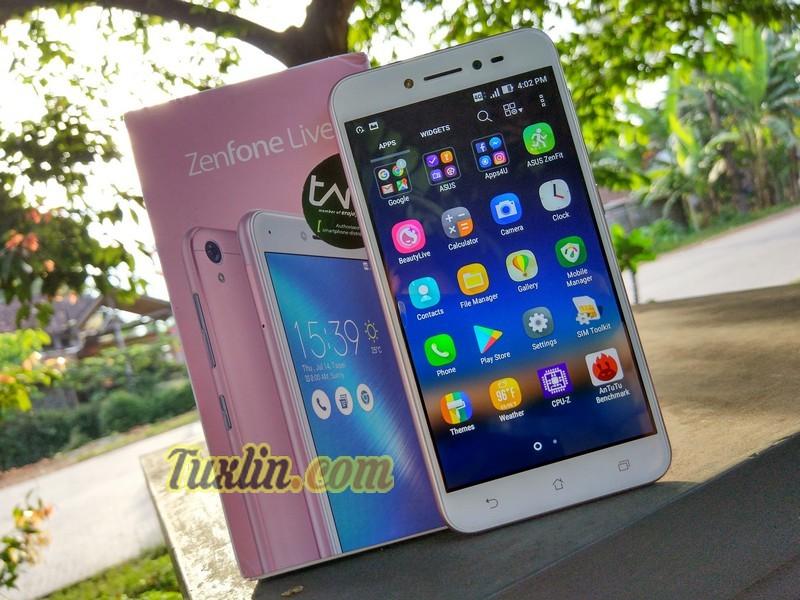 Review Asus Zenfone Live ZB501KL: Cantik dengan BeautyLive