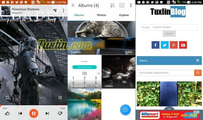 Antarmuka & FiturAsus Zenfone 4 Max Pro ZC554KL