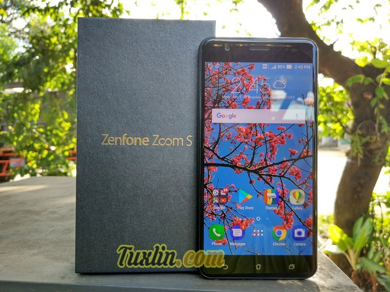 Review Asus Zenfone Zoom S ZE553KL (Android Nougat)