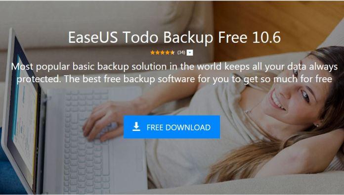 Review Easeus Todo Backup Free