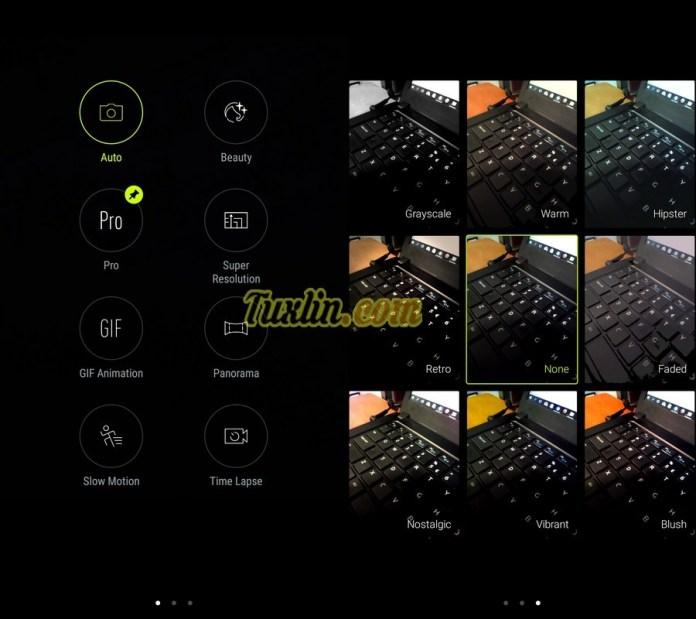 Antarmuka & Fitur KameraAsus Zenfone 4 Selfie Pro ZD552KL