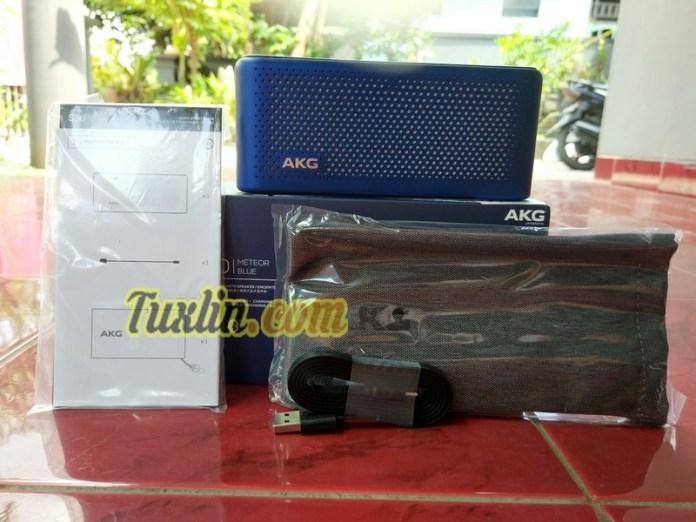 Paket PenjualanAKG S30 Bluetooth Speaker