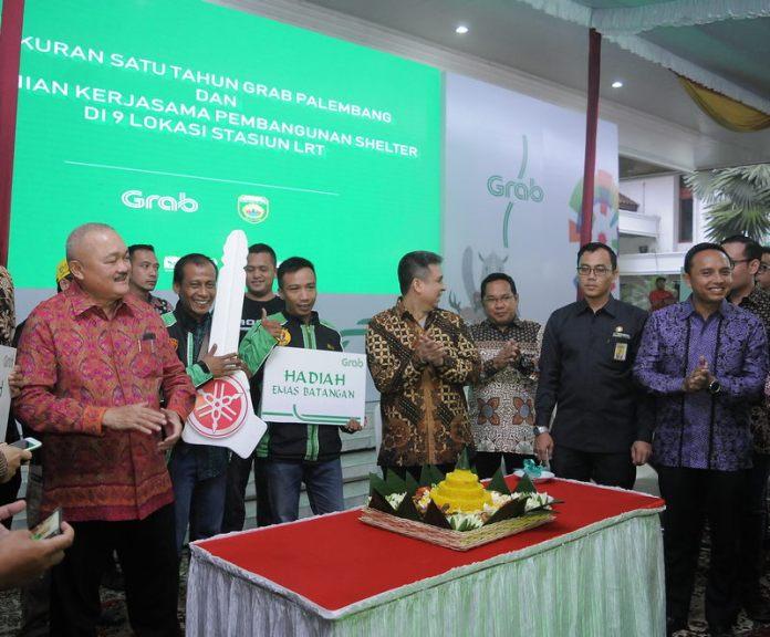 Pemprov Sumatera Selatan Gandeng Grab, Bangun Shelter Pendukung Stasiun LRT Kota Palembang 1