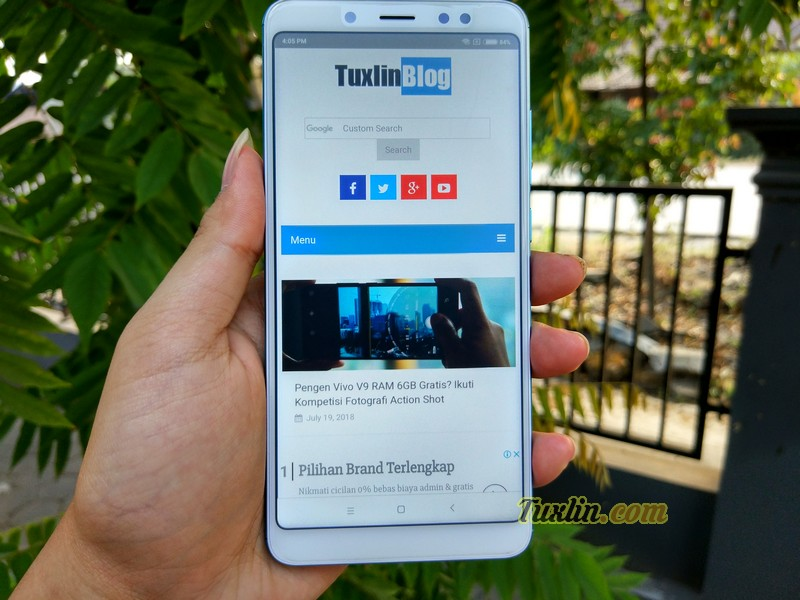 Menjajal Xiaomi Redmi Note 5 Lake Blue, Smartphone Ghoib Paling Hits!
