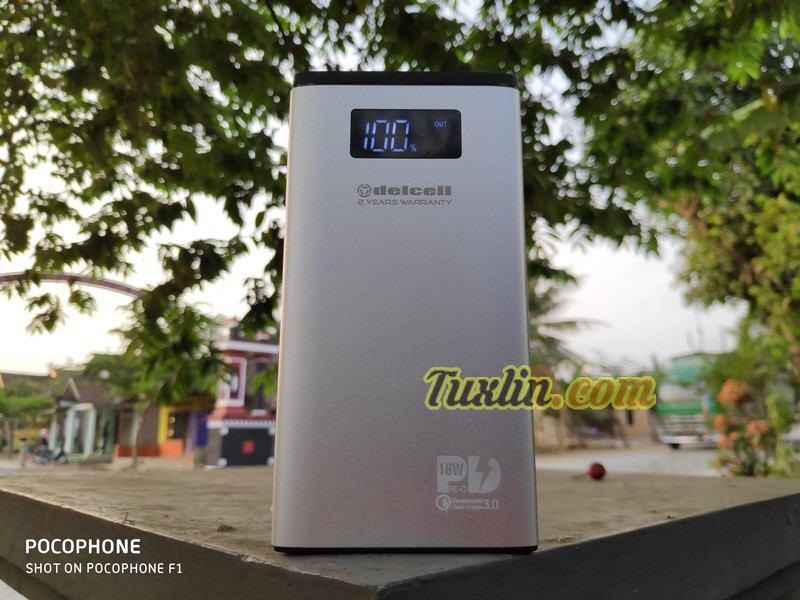 Review Delcell Foil 10800mAh: Duet Power Delivery & Quick Charge 3.0 dengan Harga Terjangkau