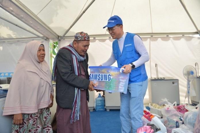Dirikan Dua Posko, Samsung Peduli Sulawesi Tengah Siap Bantu Masa Pemulihan Bencana 1