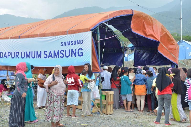 Dirikan Dua Posko, Samsung Peduli Sulawesi Tengah Siap Bantu Masa Pemulihan Bencana 13