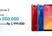 Harga Realme 2 Dipangkas, Realme U1 Digelar Open Sale