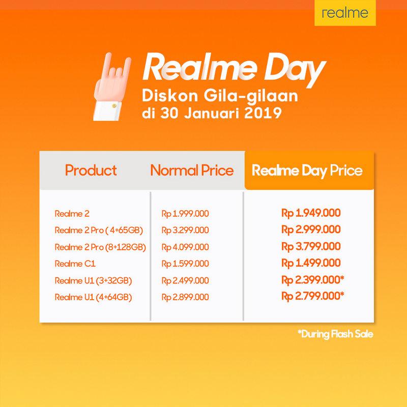 Siap-Siap Realme Day! Harga Smartphone Realme Dipangkas! 5
