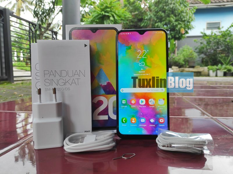Paket Penjualan Samsung Galaxy M20