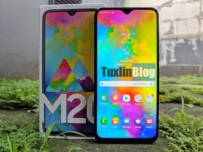 Review Samsung Galaxy M20: Baterai Besar Jadi Andalan