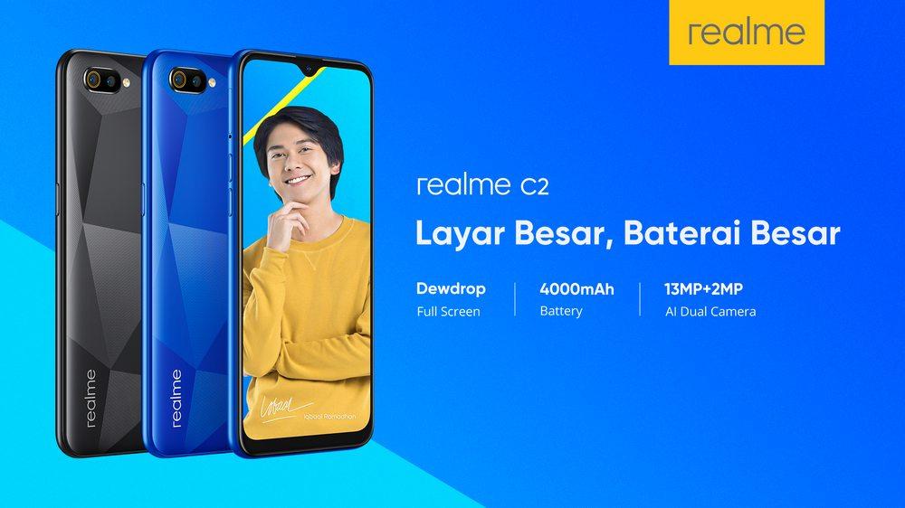 Realme C2 Dipastikan Masuk Indonesia, Siap Guncang Pasar Entry Level 2