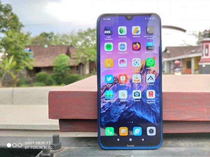 Desain Xiaomi Redmi Note 8