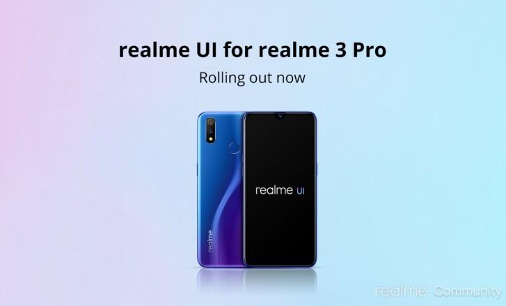 Realme 3 Pro Terima Update Android 10 dan Realme UI 1