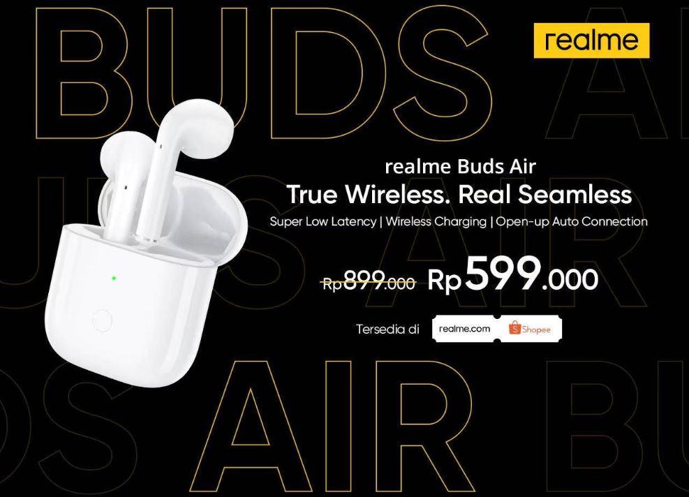 Realme Buds Air & Realme 5i Resmi Hadir di Indonesia 2