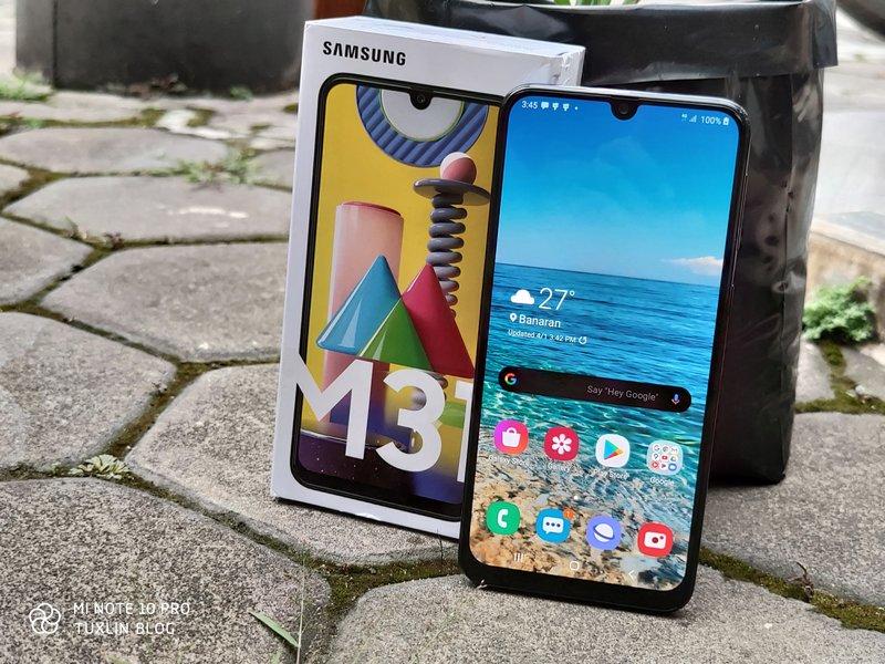 Membeli dan Menjajal Samsung Galaxy M31 di Tengah Wabah Covid-19 2