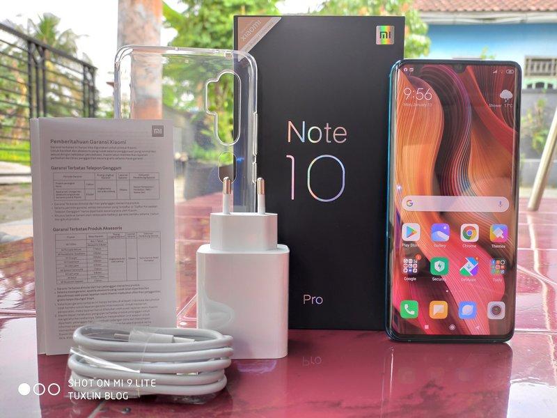 Review Xiaomi Mi Note 10 Pro, Smartphone Premium Berkamera Flagship 1