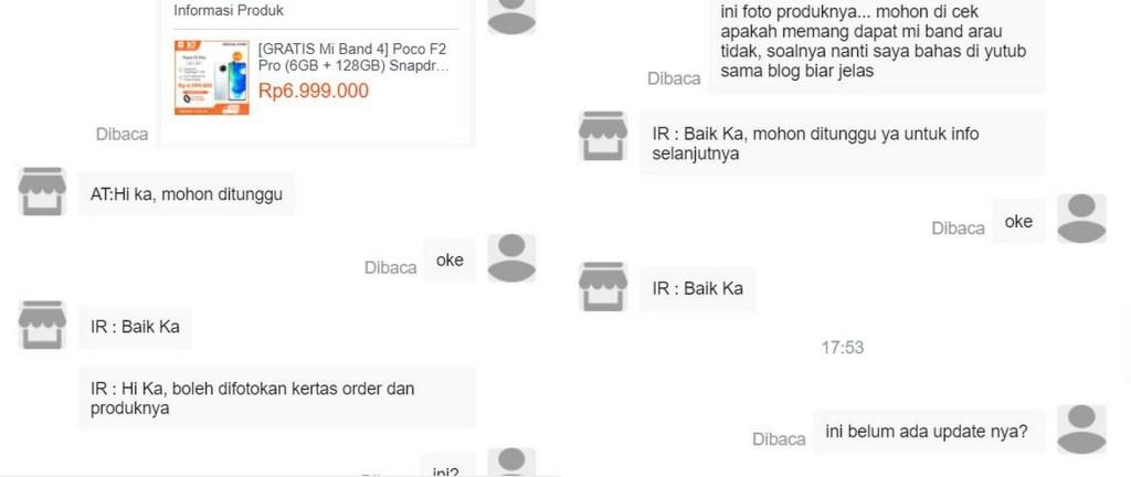 Beli Poco F2 Pro Pas Xiaomi 10th Anniversary Sale, Tapi Nggak Dapat Mi Band 4 4