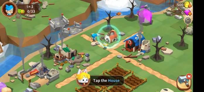 Tutorial Main dan Top Up Game Garena Fantasy Town 4