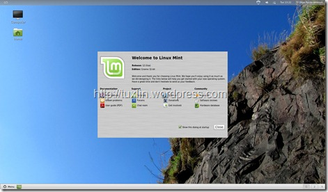 Linux Mint 12 Lisa (1/6)