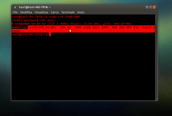cvt linux