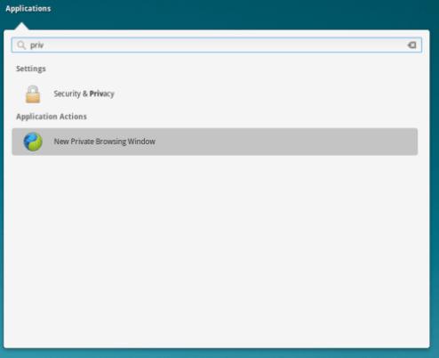 Navigazione Anonima Elementary OS