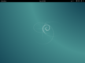 Debian 8.2 GNOME Shell
