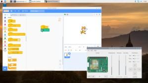 Raspbian 2020-02-05, Scratch, LXDE.